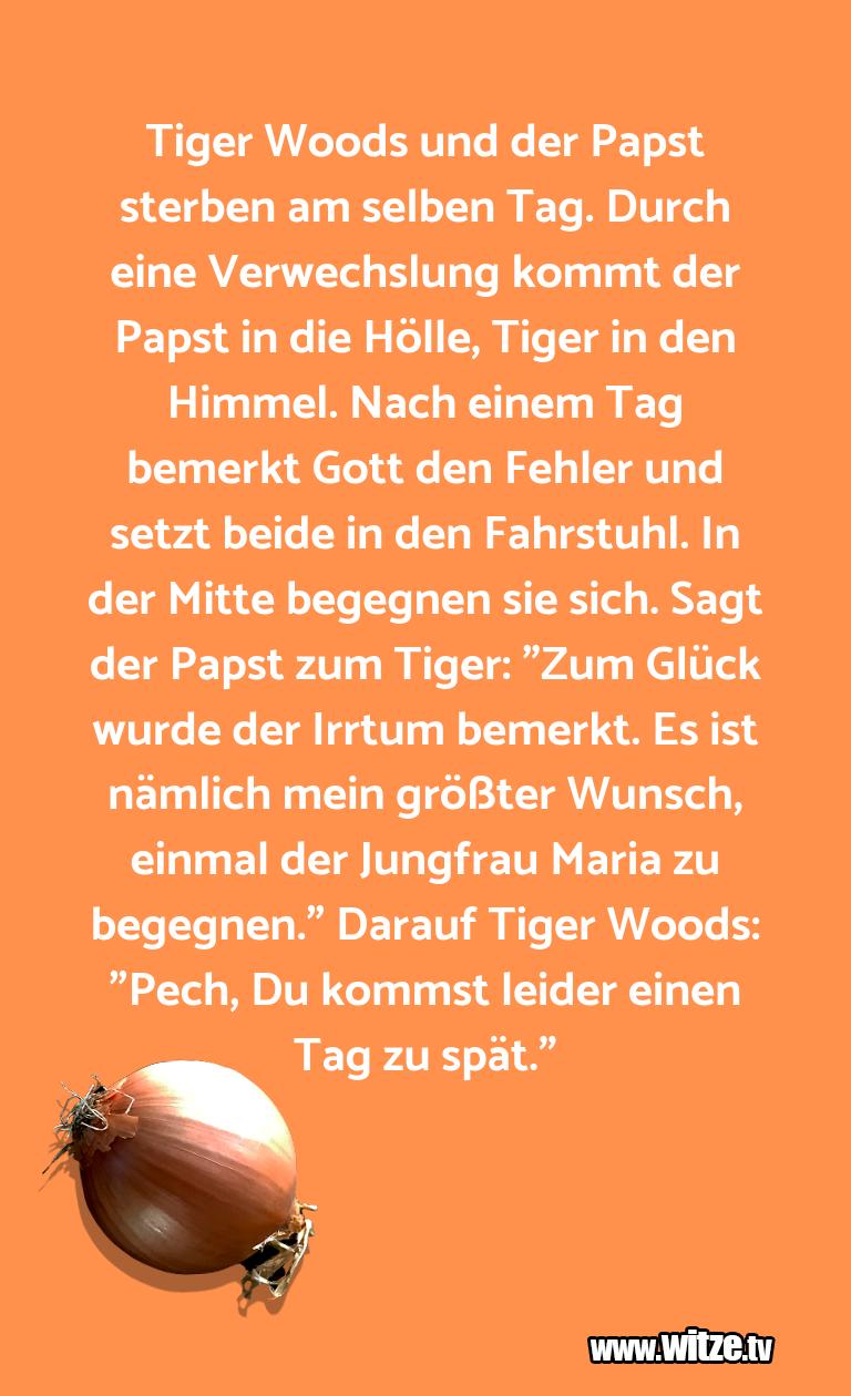 Tiger Woods Und Lustige Witze Und Sprüche