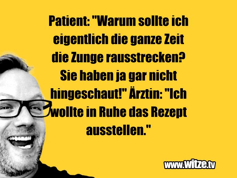 """WaseinJux... Patient:""""Warumsolltei…"""