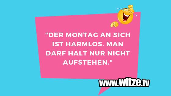 """ClownWitze!... """"DerMontagansichisth…"""