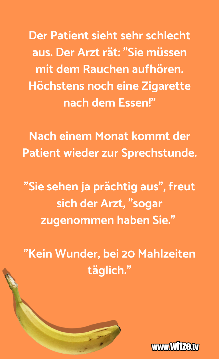 KrönungderWitze… DerPatientsiehtsehrs…