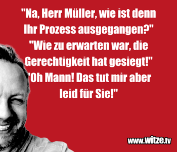 """Na, Herr Müller…"