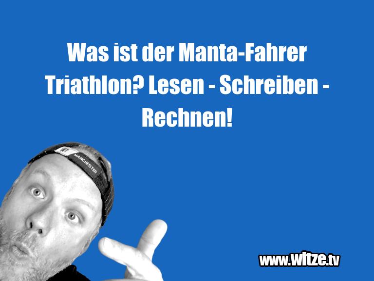 ClownWitze!...WasistderManta FahrerTriathlon?Lesen Schrei…