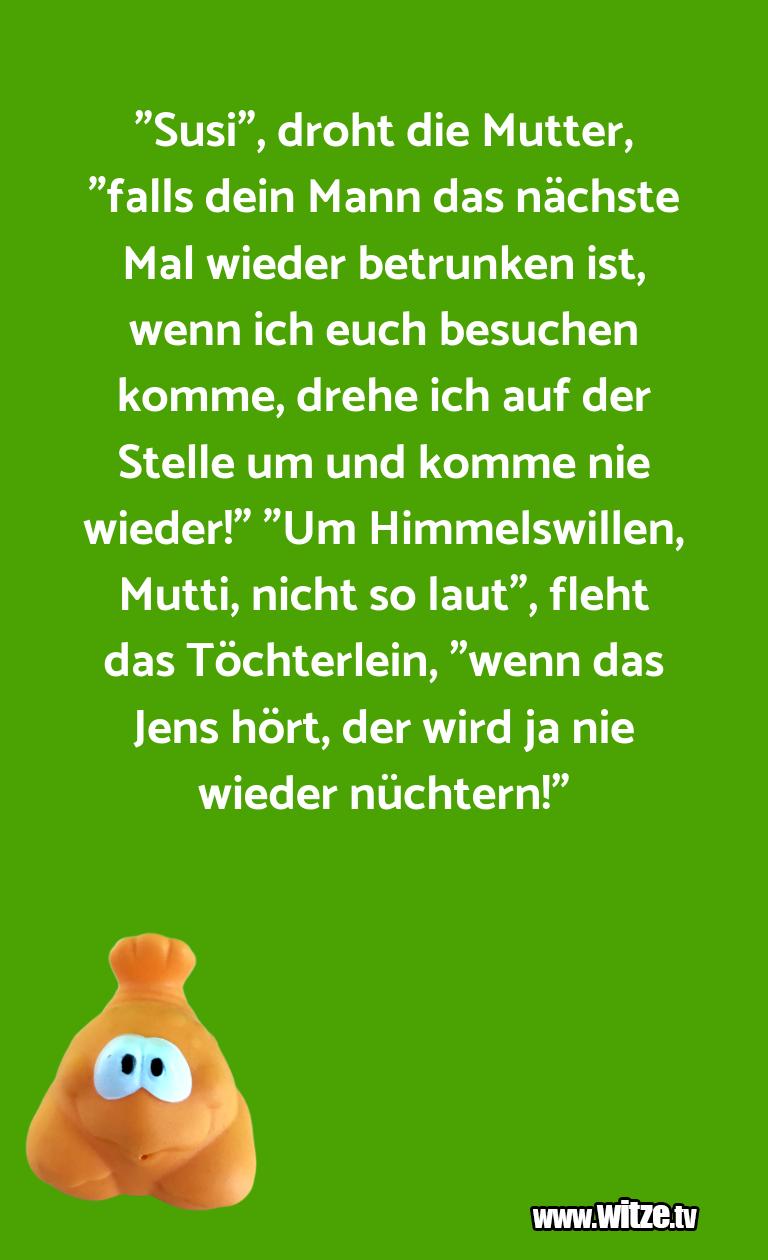 """Ein Wortwitz über… """"Susi"""", droht die Mutter, """"falls dein Mann das näc…"""