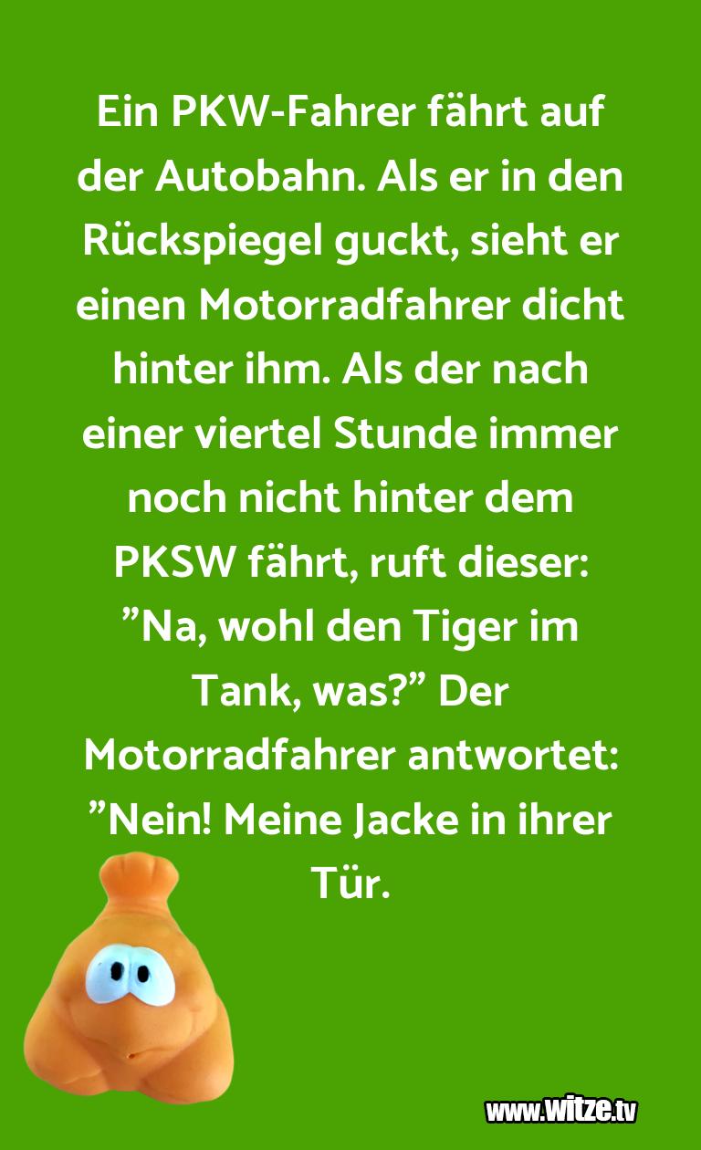 KrönungderWitze…EinPKW FahrerfährtaufderA…