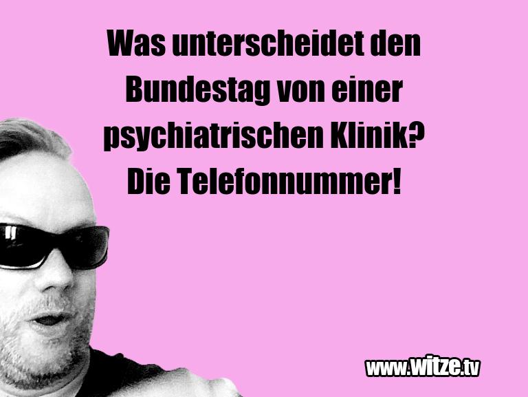 Clown zum Frühstück gegessen… Was unterscheidet den Bundestag von einer psychiat…