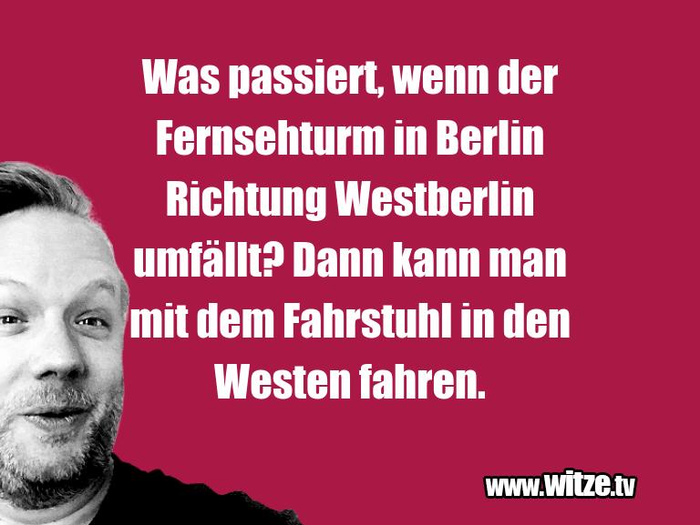 Erfindergeist oder doch nur Scharbernack...Was passiert, wenn der Fernsehturm in Berlin Richt…