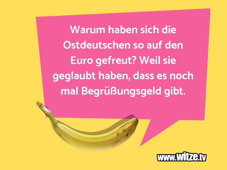 Erfindergeist oder doch nur Scharbernack...Warum haben sich die Ostdeutschen so auf den Euro …