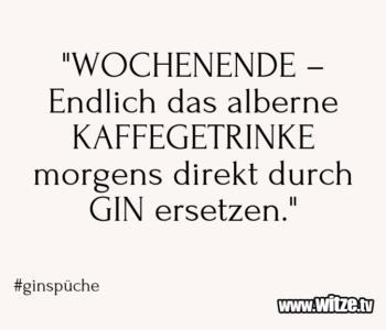 """""""WOCHENENDE – Endlich das…"""