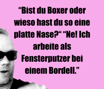 """Bist du Boxer…"