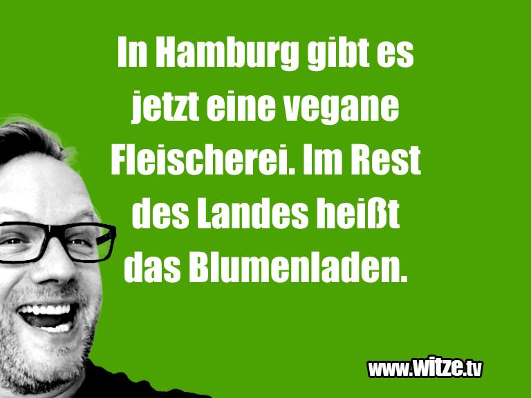 Clown zum Frühstück gegessen… In Hamburg gibt es jetzt eine vegane Fleischerei. …