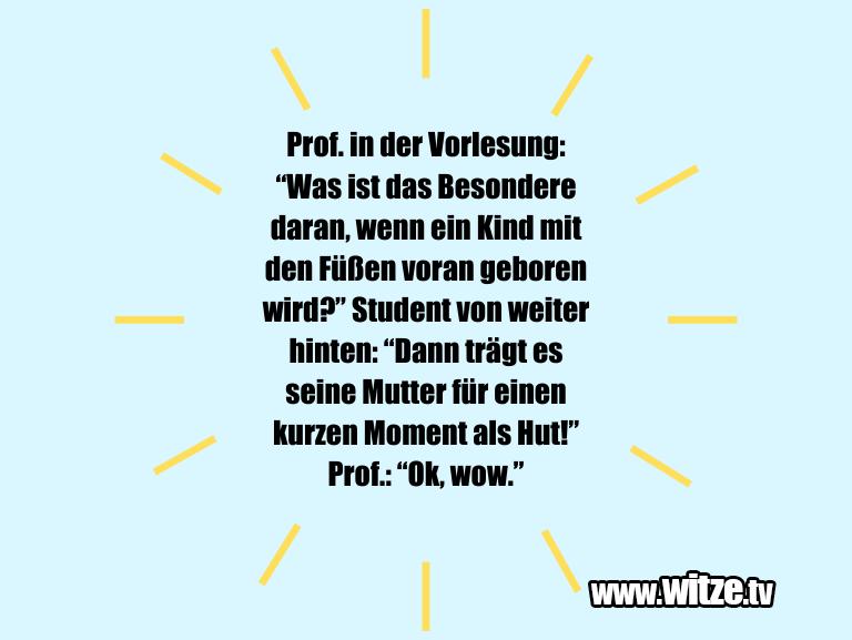 Prof in der Vorlesung