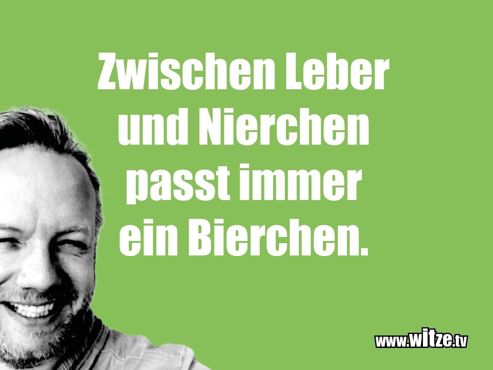 Leidenschaftlicher Humor... Zwischen Leber und Nierchen...