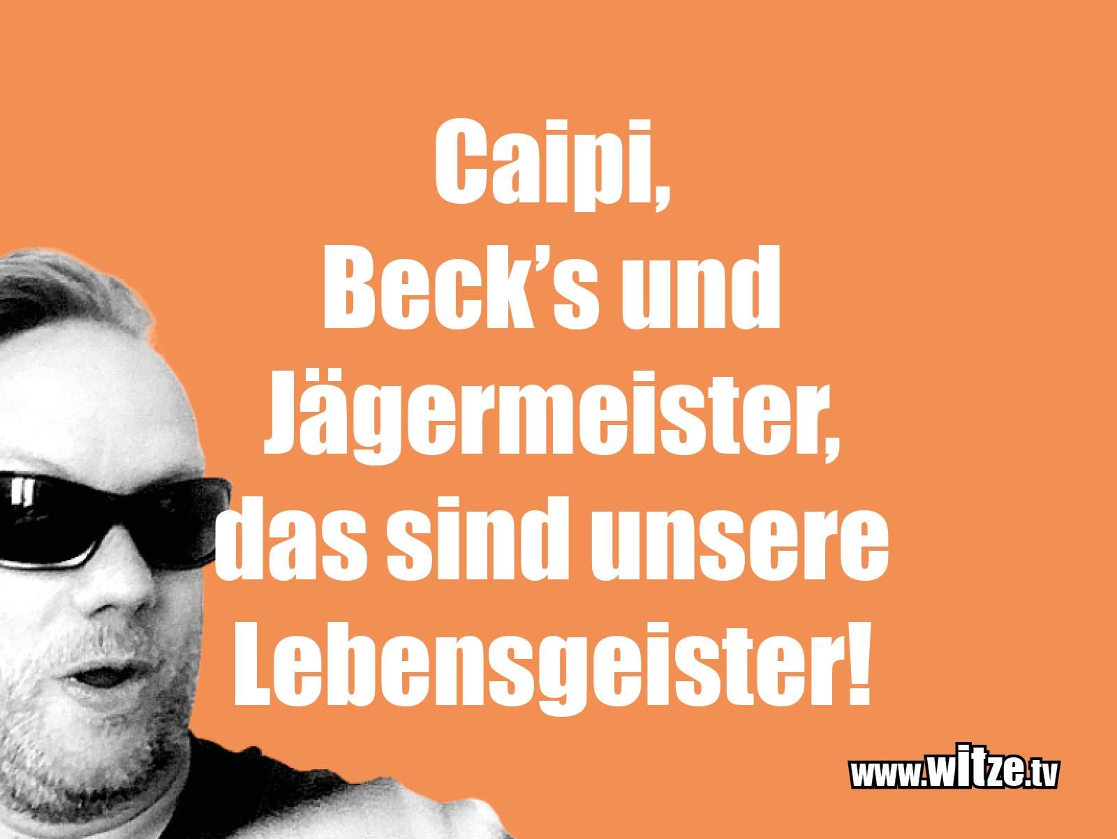 Clown witze!... Caipi, Becks und Jägermeister...