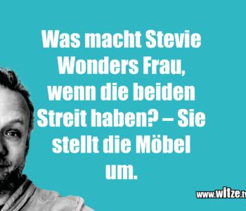 Was macht Stevie Wonders…