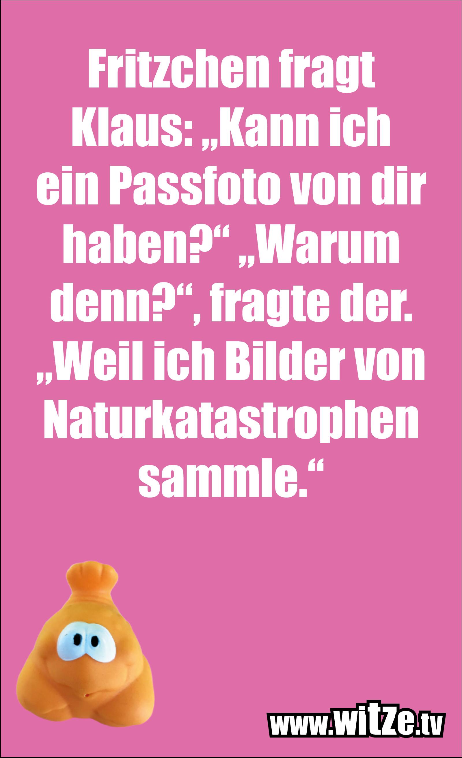 Witz über... Fritzchen fragt Klaus...