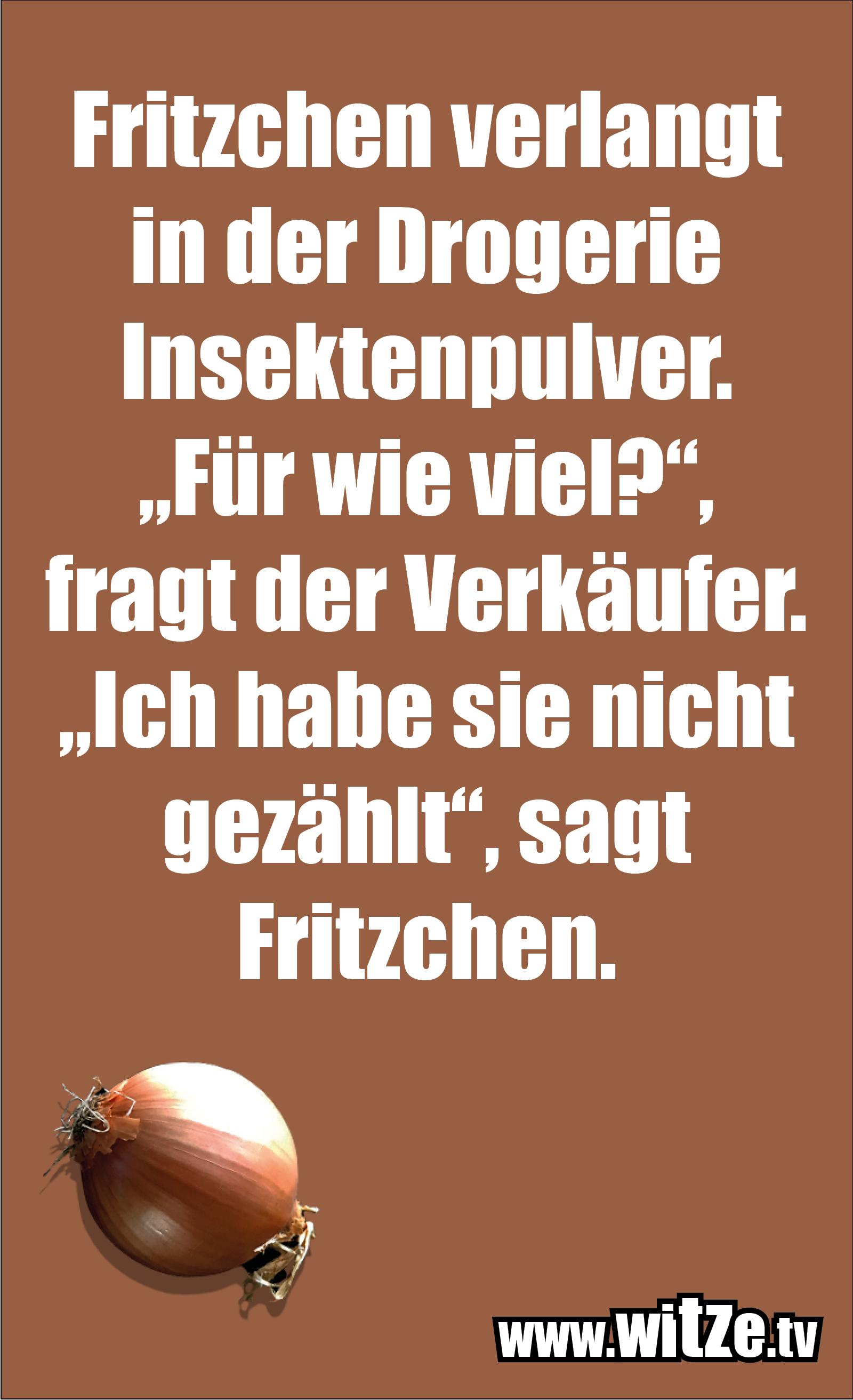 Hammer Gag... Fritzchen verlangt in der Drogerie...