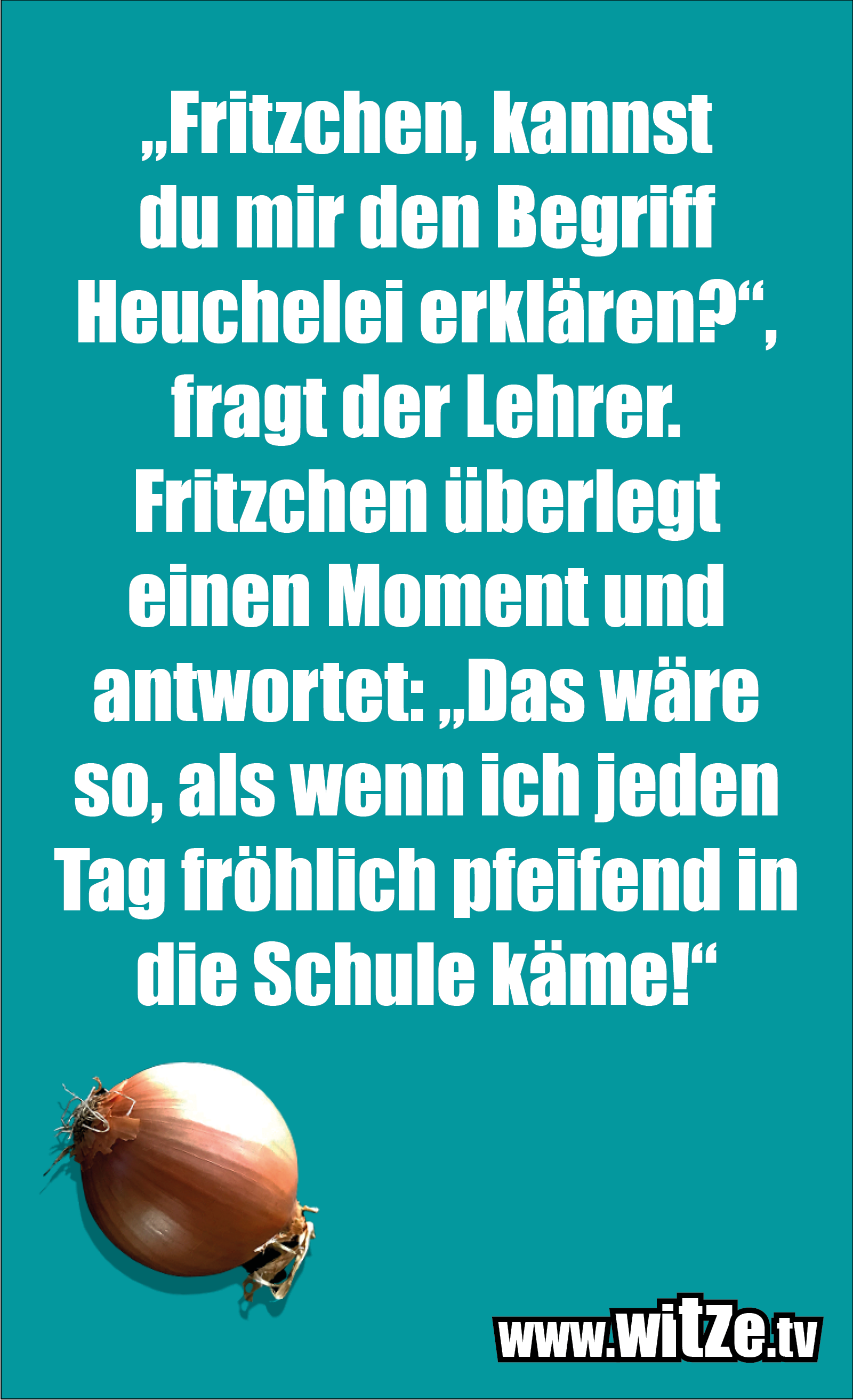 """Hammer Joke... """"Fritzchen, kannst du mir..."""