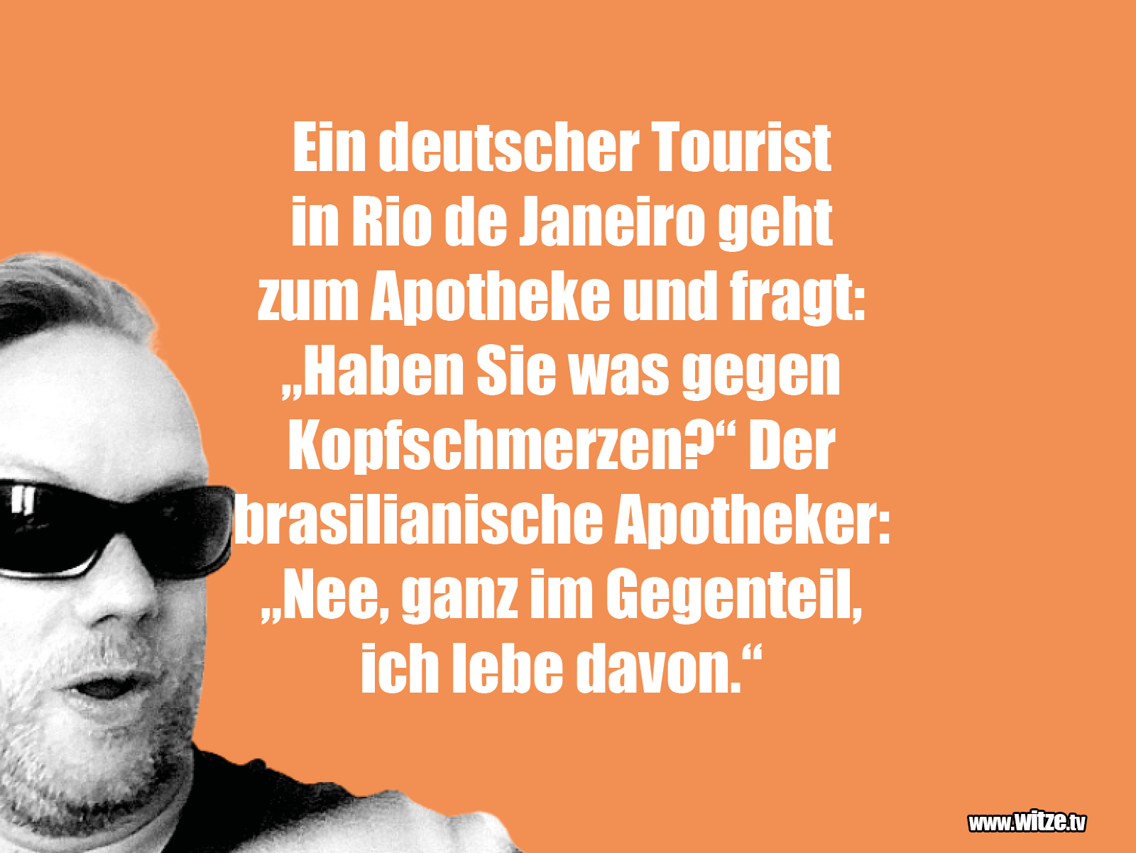 Hammer Gag... Ein deutscher Tourist in...