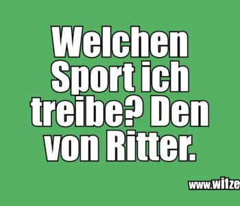 Welchen Sport ich…
