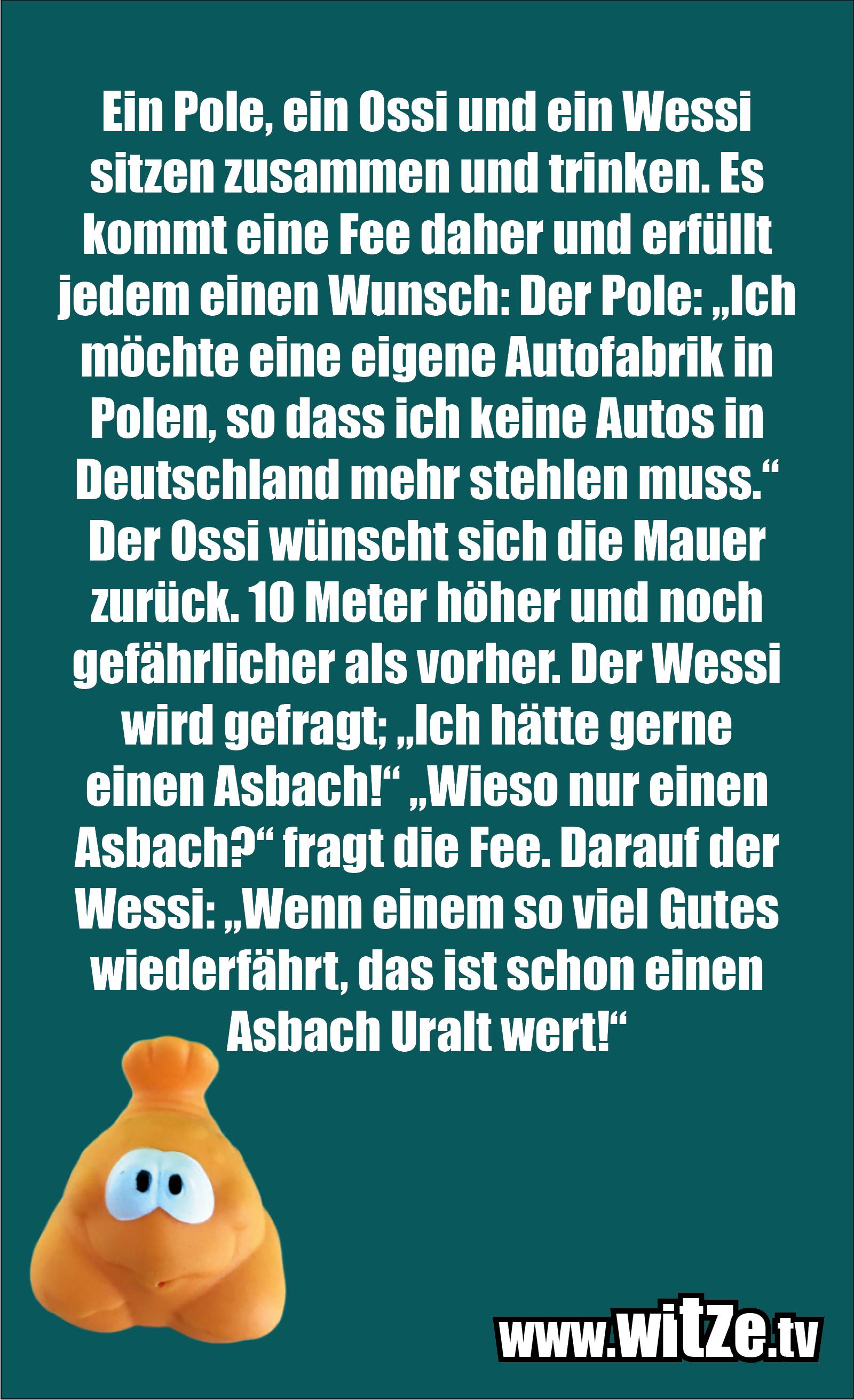 Ein Pole, ein Ossi und ein Wessi...