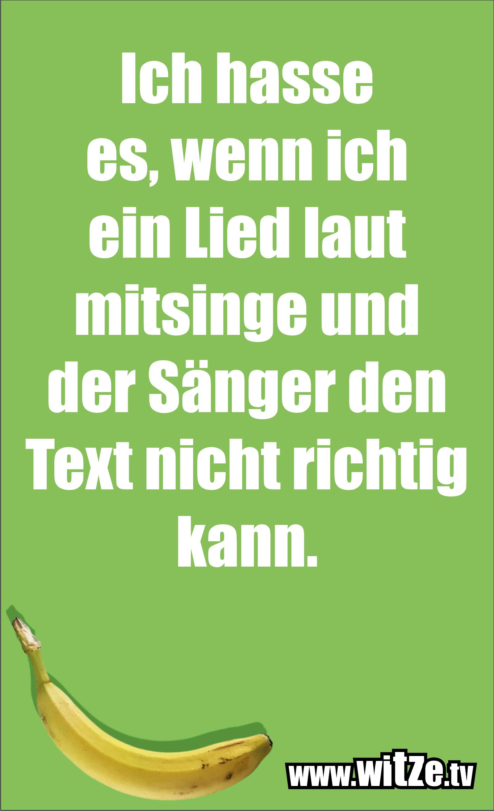 Sarkasmus Sprüche: Ich hasse es, wenn ich ein Lied laut mitsinge und der Sänger den Text nicht richtig kann.