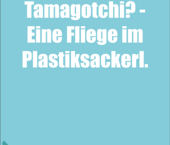 Das burgenländische Tamagotchi…
